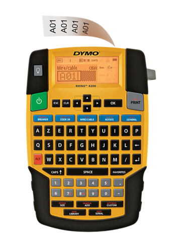 """Dymo Rhino 4200 Kitcase"""